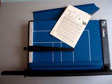 (PRL) DAHLE 560 GUILLOTINE TAGLIERINA 35 CM PAPER CUTTER CISAILLE LEVIER CIZALLA