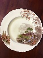 Vintage Royal Staffordshire Burslem Wilkinson Dinner Plate