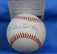STEVE CARLTON PSA DNA Coa Autograph National League ONL BasebaLL Hand Signed