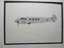 Pan Am Lockheed L 10 Electra   From  Pan Am HDQTERS
