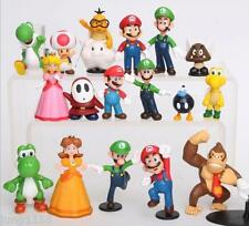 18 in 1 Nintendo Super Mario Bros Game Series Toy Doll PVC Action Figure Gift
