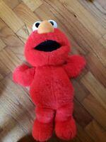 Tickle Me Elmo Vintage 1995 Talking Plush Stuffed Toy Tyco Free Shipping