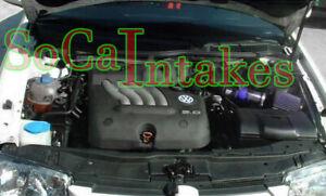 Blue Air intake system Kit For 1999-2005 Volkswagen Beetle 1.8L 1.9L 2.0L 2.8L