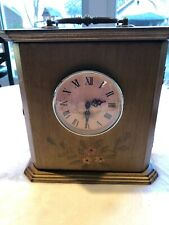 Tabletop Clock With Cabinet And Handle