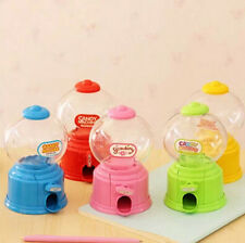 Cute Candy Machine Dispenser Gumball Vending Machine Coin Box Gift Kid Baby Toy