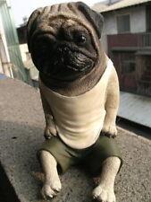 Yujin Takara Asakuma Toshio Dog Life Pet Collection Part1 Pug Figure