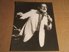 ROGER WHITTAKER - SINGEND - PROMO-FOTO - Hochformat - ca. 18 x 24 cm