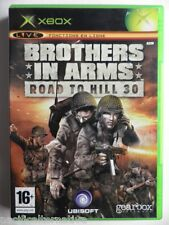 Jeu BROTHERS IN ARMS ROAD TO HILL 30 sur microsoft XBOX francais game Complet #1