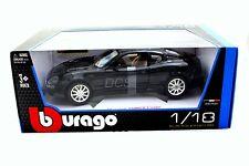 BBURAGO MASERATI 3200GT COUPE BLACK 1/18 DIECAST CAR 12031BK