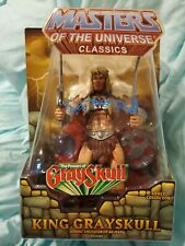 2010 Masters Of The Universe Classics KING GRAYSKULL  MOTU He-Man Mattel