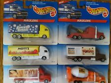 1997 HOT WHEELS HAULERS LOT OF 6 DIFFERENT # 65743-93 1/64 scale