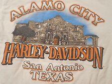 Harley Davidson Alamo City San Antonio Texas T-Shirt Adult Small Made in U.S.A.