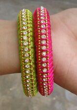 AishaCrafts Silk Thread Bangles for Women