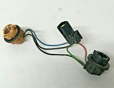 Land Rover Freelander rear bumper lamp light bulb holders connectors wiring loom