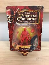 "Zizzle Pirates of the Caribbean POTC Cutler Beckett 3 3/4"" prototype figure !!!!"