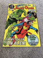 SUPERMAN'S PAL JIMMY OLSEN 136!!!  HIGHER GRADE BRONZE AGE KIRBY CLASSIC!!!