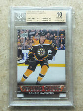 13-14 UD Serie 1 Young Guns #202 DOUGIE HAMILTON Graded BGS 10