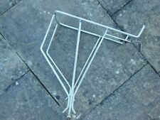 BICYCLE REAR PANNIER / LUGGAGE RACK, ALUMINIUM SUIT TOURING BIKE CIRCA 70'S 80'S