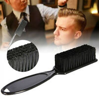 Portable Men's Mustache Beard Comb Brush Facial Hair Trimming Cleaning Tool