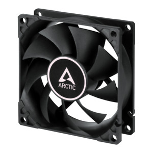 Arctic Cooling F9 PWM PST 92mm Black Case PC Fan 1800 RPM, 43 CFM