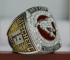 2018 Calgary Stampeders 106th CFL Grey Cup championship RING 7-15S/Bag