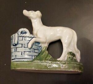Vintage China Model of a Greyhound c1930