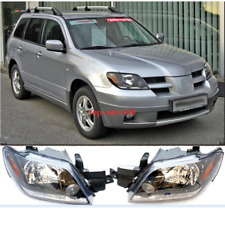 For MITSUBISHI Outlander 2003-2005 Set Left&Right Front Head lamps Headlights