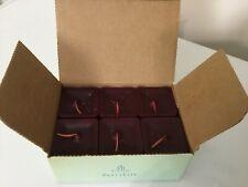 Rare! Partylite Square Votive Candles Raspberry Scent 1 Box New