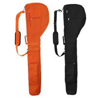 Set of 2 Golf Club Travel Bag Case Sunday Carry Pouch for Golfer on the Go