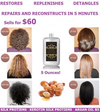 GROW LONG HAIR FIX DAMAGE KERATIN PURE PROTEIN TREATMENT RESTORE REPAIR SHINE