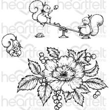 Heartfelt Creations Stamps ~ PATCHWORK DAISY ~ HCPC3852