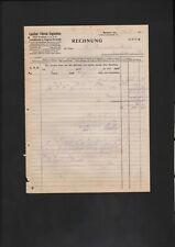 Fahrrad Rechnung in Rechnungen & Quittungen für Sammler