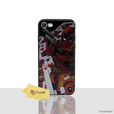"""Marvel Coque/Housse Apple iPhone 8 plus (5.5"""")/3D en silicone/DEADPOOL-Cartes"""