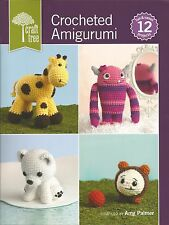 Crocheted Amigurumi 12 Cute Animal Crochet Patterns Owl Monkey Frog Ayo + NEW