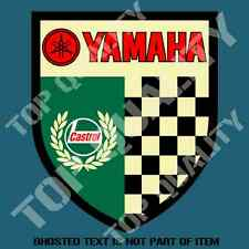 VINTAGE CASTROL YAMAHA DECAL STICKER MOTORBIKE SUIT MOTORCYCLE DECALS STICKERS