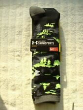 UNDER ARMOUR MENS SNOWSPORTS SOCKS   MEDIUM  4-8.5    ~NEW IN PACKAGE~