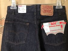 Levis 501 New Deadstock 1984 Mervyn's Denim Jeans USA W29 L36 Preshrunk DARK