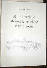 MONTEFREDANE memorie storiche e tradizioni Giuseppe Pisano ed. nel 1991