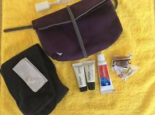 Cathay Pacific Business Class Travel Pouch w/ Amenities
