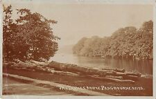 More details for br75150 pangbourne   the thames above real photo   uk
