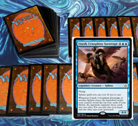 mtg BLUE UNESH SPHINX COMMANDER EDH DECK Magic the Gathering atemsis rare cards
