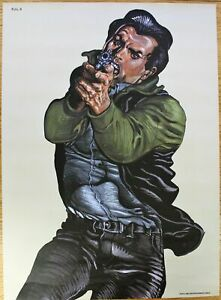 Cool Police Law Enforcement Shooting Target Practice Poster - Salvage Hunters