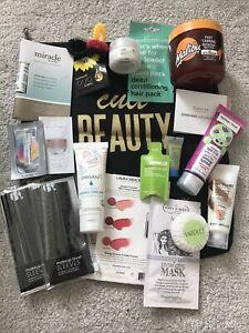 Beauty Bundle - Brand New - 18 Items + Cult Beauty Bag - Hair Skincare Makeup