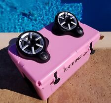 Ice chest cooler stereo PINK! cooler radio Best on the market! 100% waterproof!