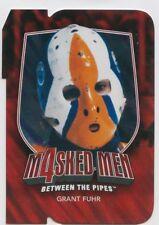 11/12 BETWEEN THE PIPES MASKED MEN 4 DIE-CUT MASK #MM-18 GRANT FUHR OILERS 49591