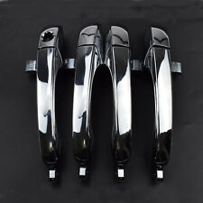Front Rear LH RH Chrome Outer Door Handle Set For Chrysler 300 C 05-10 5065801AE