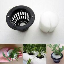 10Pcs Mesh Pot Net Cup Basket Hydroponic Nursery Aeroponic Garden Plant Grow Pot
