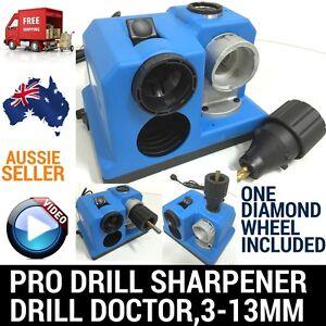 ELECTRIC PRO DRILL BIT SHARPENER SHARPENING TOOL DOCTOR GRINDER 3-13M CAPACITY