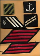 MILITARY PATCH LOT OF 28 VARIOUS CONDITION