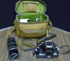 PENTAX CAMERA CASE CLASSIC PENTAX SOLIGOR LENS FILTERS  AS IS VINTAGE